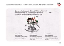 60011b - 1 - Carte Souvenir - Cs - Hk 2579 - Simenon Georges - écrivain - émission Suisse - Hojas