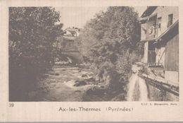 CHROMO LA QUINTONINE  AX-LES-THERMES  PYRENEES - Chromos