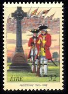 F2446 - Tmbres COB 2600 - La Bataille De Fontenoy - émission Commune Avec L'irlande - Cartas Commemorativas