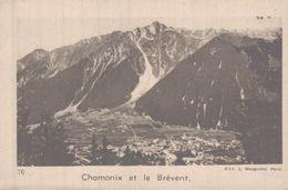 CHROMO LA QUINTONINE  CHAMONIX ET LE BREVENT - Chromos