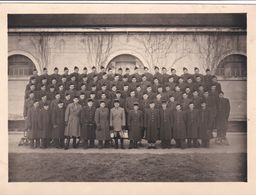 PHOTO MILITAIRE COMPIEGNE CASERNE PHOTO HUTIN - Guerre, Militaire