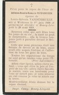 Wetteren, Bourg-Leopold, 1934, Julienne Puyenbroeck, Vandenbrulle - Andachtsbilder