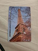 PREPAYEE TOUR EIFFEL Maxicall - France