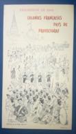 EXPOSITION 1900 - Colonies Francaises Pays De Protectorat Fete Coloniale 2 Aout 1900 - MENU PROGRAMME - Eugene Le MOUEL - Menus