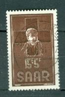 Sarre  Yvert  330   Ob TB - Usati