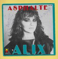 Disque Vinyle 45 Tours : ALIX :  ASPHALTE..Scan A : Voir 2 Scans - Dischi In Vinile