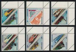 Suriname, 1985, Trains, Railways, MNH, Michel 1134-1145 - Surinam