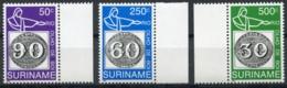 Suriname, 1993, Brasiliana Stamp Exhibition, MNH, Michel 1450-1452 - Surinam
