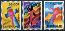 Suriname, 1993, Easter, MNH, Michel 1435-1437 - Surinam
