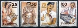 Suriname, 1994, Music Instruments, MNH, Michel 1467-1470 - Surinam