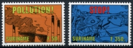 Suriname, 1994, Nature Conservation, Environment Protection, MNH, Michel 1475-1476 - Surinam