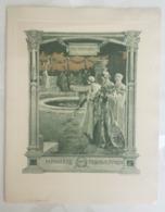PROGRAMME - CONGRES INTERNATIONAL DES CHEMIN DE FER 1er Octobre 1900 - Chateaux De Versailles - Programme