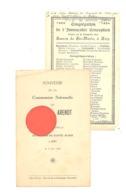 RELIGION - HUY 1924 - Congrégation L'Immaculée Conception - Chapelle Des Soeurs De Ste Marie, Liste Des Congréganistes - Images Religieuses