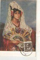 """J. Cardona. Gitanilla De La Mantilla. Gipsy Girl With Mntilla"" Nice Spanish PC 1930s - Women"