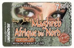 France Iradium Maghreb Afrique Du Nord 7.50 Euros - France