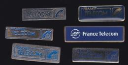 65978-Lot De 6 Pin's- France-telecom.Orange.Telephone.. - France Telecom