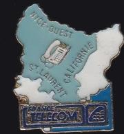 65986- Pin's- France-telecom.Orange.Telephone.Nice.st Laurent. - France Telecom