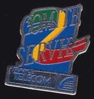 65990- Pin's- France-telecom.Orange.Telephone.signé Fraisse. - France Telecom