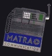 65993- Pin's- France-telecom.Orange.Telephone.Matra. - France Telecom