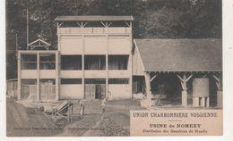 CPA NOMEXY UNION CHARBONNIERE VOGIENNE DISTILATION DES GOUDRONS DE HOUILLE - France