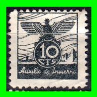 10 CENTIMOS AUXILIO DE INVIERNO ESPAÑA AÑO 1937 - Impuestos De Guerra