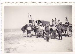 PHOTO ORIGINALE 39 / 45 WW2 WEHRMACHT FRANCE LA BAULE ET ENVIRONS SOLDATS ALLEMANDS SUR LA PLAGE - Guerre, Militaire
