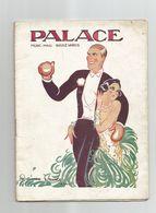 Rare Programme LE PALACE THEATRE CABARET MUSIC HALL FEMMES ET SPORTS BOXE GEORGES CARPENTIER  SPECTACLE - Programme