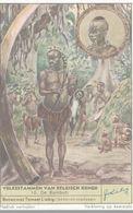 CHROMO  LIEBIG  VOLKSSTAMMEN VAN BELGISCH KONGO  N° 10 DE BAMBUTI - Liebig