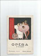 RARE PROGRAMME OPERA ALGER ALGERIE CHASTE SUZANNE 1926 Theatre Danse - Programme