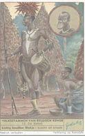CHROMO  LIEBIG  VOLKSSTAMMEN VAN BELGISCH KONGO  N° 13 DE BABALI - Liebig