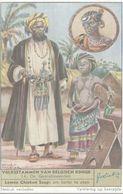CHROMO  LIEBIG  VOLKSSTAMMEN VAN BELGISCH KONGO  N° 14 DE GEARABISEERDEN - Liebig