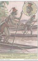 CHROMO  LIEBIG  VOLKSSTAMMEN VAN BELGISCH KONGO  N° 15 DE WASONGOLA - Liebig