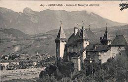 CPA 73 Conflans Château De Manuel Et Albertville N°2813 - Albertville