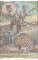 CHROMO  LIEBIG  VOLKSSTAMMEN VAN BELGISCH KONGO  N° 17 DE BANGALA - Liebig