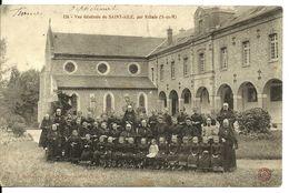 77 REBAIS  VUE Générale  De Saint  Aile  Avec Tous Les Enfants  (Orphelinat)  St Aile) - Rebais