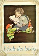 AFFICHE ANCIENNE ORIGINALE ILLUSTRATION TOMI UNGERER POUR L'ECOLE DES LOISIRS 1997 Fillette Et Lutins - Afiches
