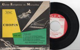 SERGE PETITGIRARD - CHOPIN - VALSES -  GUILDE EUROPÉENNE DU MICROSILLON - Classical