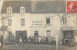 PERRECY LES FORGES ? Carte Photo Fabrique De Chaises BRETIGNY BOURGEOIS - Sonstige Gemeinden