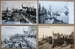 LOT  60 CPA/CPSM - BELGIQUE - ANVERS - Petites Cartes - Quelques Belles Animations - Antwerpen