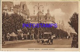137799 ARGENTINA BUENOS AIRES AVENIDA ALVEAR POSTAL POSTCARD - Argentine