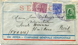 BRESIL LETTRE VIA AEREA - COMPAGNIE GENERALE AEROPOSTALE DEPART RIO DE JANEIRO 3 MAI 1930 POUR LA FRANCE - Luchtpost