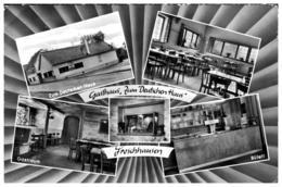 """Seligenstadt Froschhausen Gasthaus """"Zum Deutschen Haus"""" Mehrbildkarte Gl - Otros"""