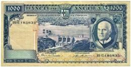 Angola - 1000 Escudos - 10.06.1970 - Pick 98 - Série 25 II - Américo Tomás - PORTUGAL 1 000 - Angola