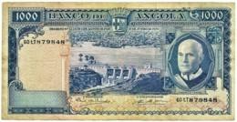 Angola - 1000 Escudos - 10.06.1970 - Pick 98 - Série 60 TT - Américo Tomás - PORTUGAL 1 000 - Angola