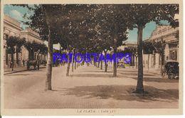 137809 ARGENTINA BUENOS AIRES LA PLATA STREET CALLE POSTAL POSTCARD - Argentine