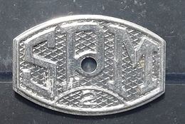 Ste Société Pyrénéenne De Métallurgie ,  Monnaie Jeton De Nécessité Necessity Token, 2 F , TB - I. 2 Francs