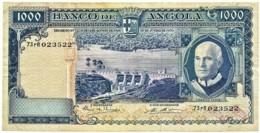 Angola - 1000 Escudos - 10.06.1970 - Pick 98 - Série 73 RR - Américo Tomás - PORTUGAL 1 000 - Angola