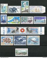 TAAF;1996;année Complète; TP N° 203 à 212A; + PA N°137 à 140 ;NEUFS**,MNH - Französische Süd- Und Antarktisgebiete (TAAF)