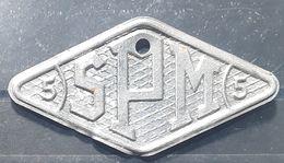 Ste Société Pyrénéenne De Métallurgie ,  Monnaie Jeton De Nécessité Necessity Token, 5 F Losange  , TB - J. 5 Francs