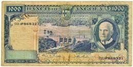 Angola - 1000 Escudos - 10.06.1970 - Pick 98 - Série C11 DP - Américo Tomás - PORTUGAL 1 000 - Angola